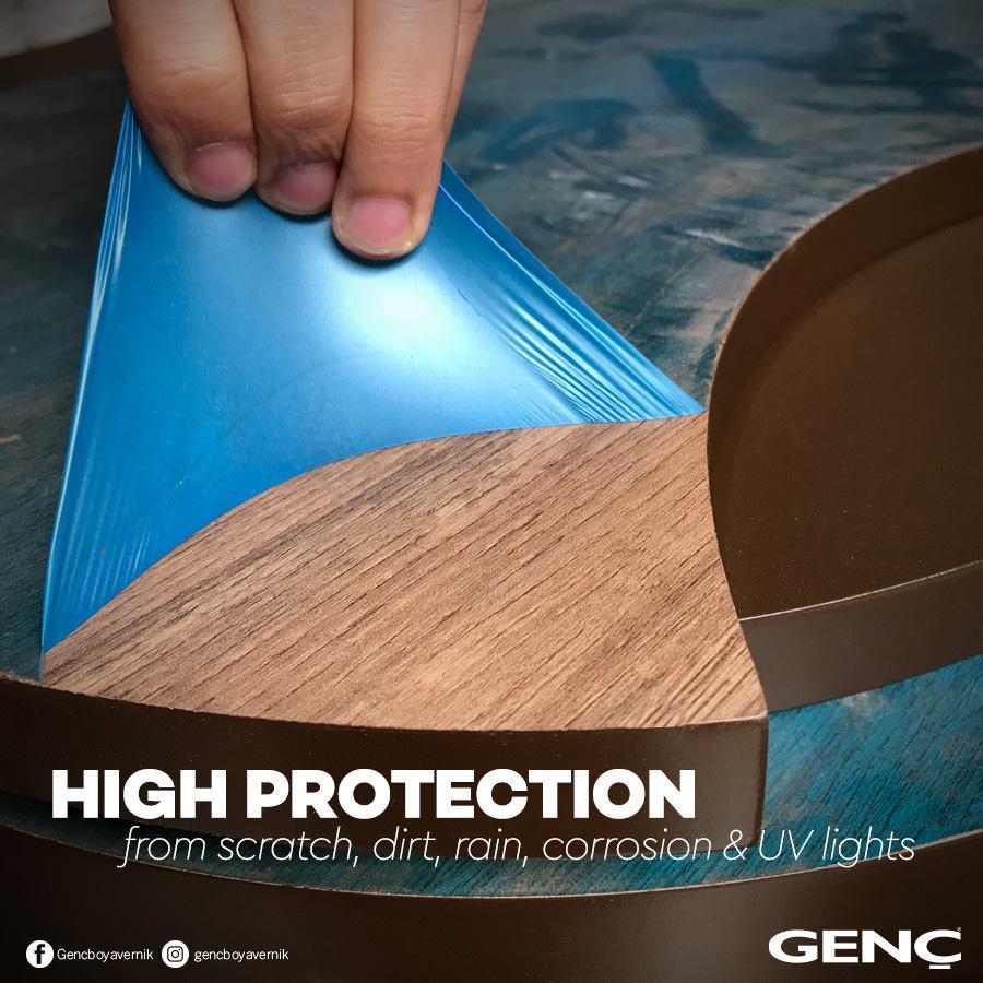 Genc peelable coating