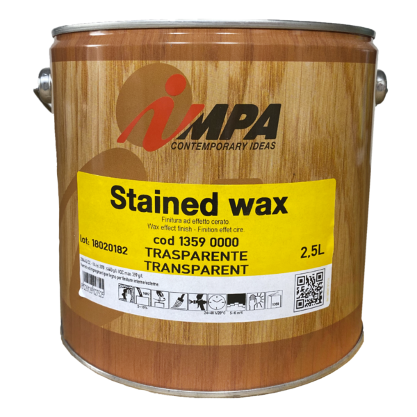Пропитка для дерева Impa Stained Wax 2.5
