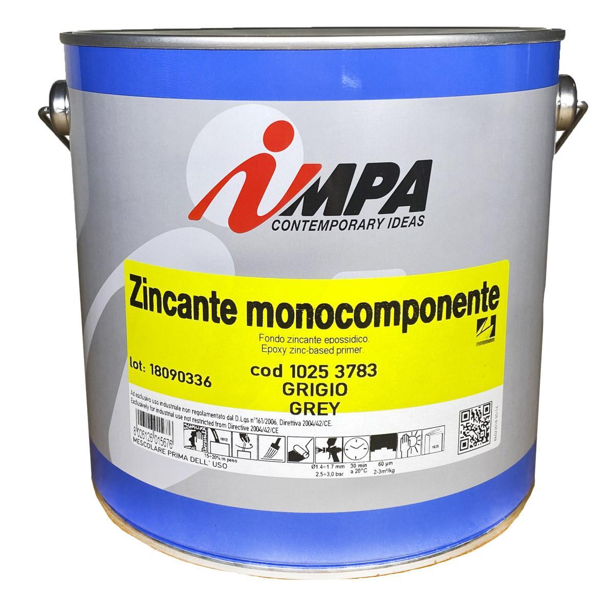 Грунтовка по металлу impa zincante monocomponente