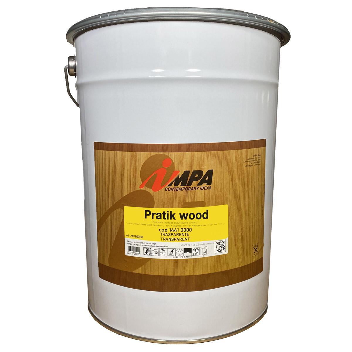 Пропитка для дерева impa pratik wood