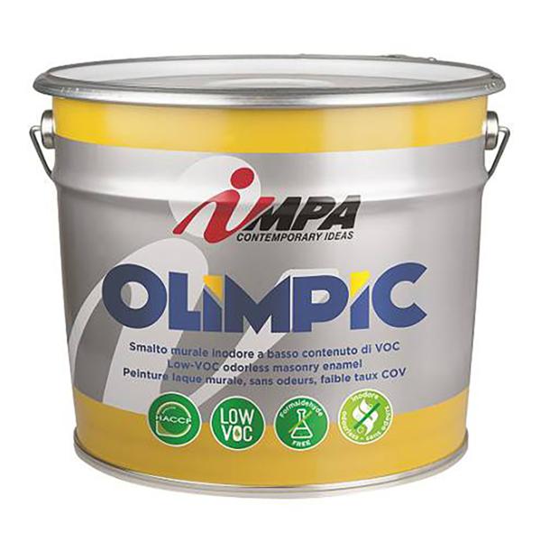 Краска водоэмульсионная акриловая Impa Olimpic
